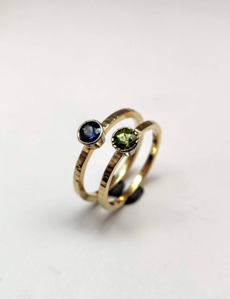Strakke gouden ring